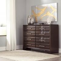 Andriel Dark Brown Dresser