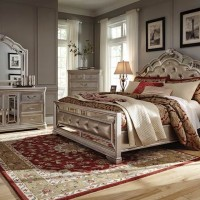 Birlanny Silver Bedroom Set