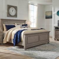 Lettner Light Gray Bedroom Set