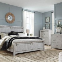 Brashland White Bedroom Set