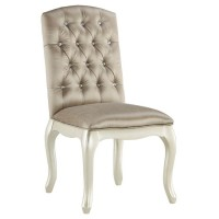 Cassimore Pearl Silver Upholstered Chair (Includes 1)