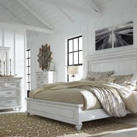 Kanwyn Whitewash Bedroom Set