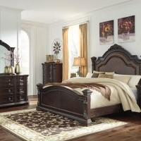 Wellsbrook Dark Brown Bedroom Set