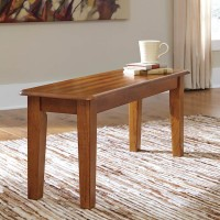 Berringer Rustic Brown Large Dining Room Bench