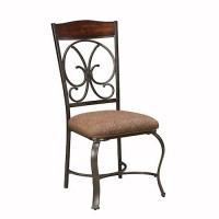 Glambrey Brown Dining Upholstered Side Chair (Includes 1)