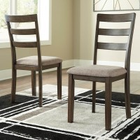 Drewing Brown Dining Upholstered Side Chair (Includes 2)