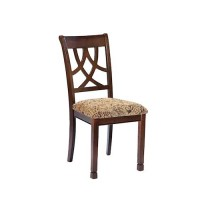 Leahlyn Medium Brown Dining Upholstered Side Chair (Includes 1)