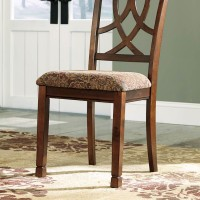 Leahlyn Medium Brown Dining Upholstered Side Chair (Includes 2)
