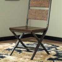 Kavara Medium Brown Dining Room Chair (Includes 2)