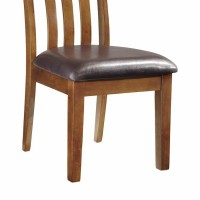 Ralene Medium Brown Dining Upholstered Side Chair (Includes 1)