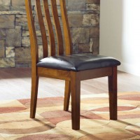 Ralene Medium Brown Dining Upholstered Side Chair (Includes 2)