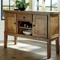 Flaybern Brown Dining Room Server