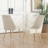 Coverty Light Brown Dining Upholstered Side Chair (Includes 2)