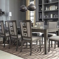 Chadoni Gray Dining Room Set