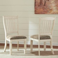 Bolanburg Antique White Dining Upholstered Side Chair (Includes 2)