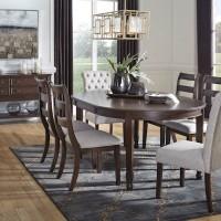 Adinton Reddish Brown Dining Room Set