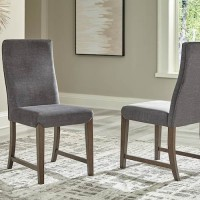 Raehurst Brown Dining Upholstered Side Chair (Includes 2)