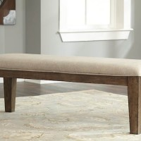 Flynnter Medium Brown Dining Room Bench