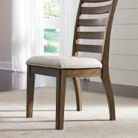 Flynnter Medium Brown Dining Upholstered Side Chair (Includes 2)