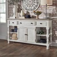 Havalance White/Gray Dining Room Server