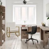 Arlenbry Gray Home Office Desk Return