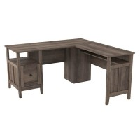 Arlenbry Gray Home Office Desk Return