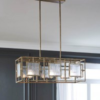 Pacey Antique Gold Metal Pendant Light (Includes 1)