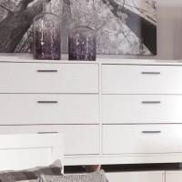 Central Park White Dresser