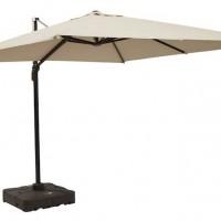 Devra Bay Beige Large Cantilever Umbrella