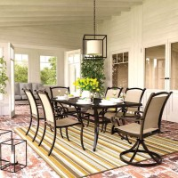 Bass Lake Beige/Brown Patio Group