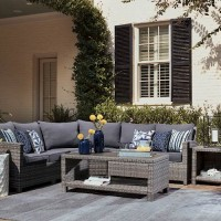Salem Beach Gray Patio Group