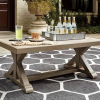 Beachcroft Beige Rectangular Cocktail Table