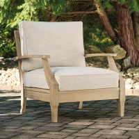 Clare View Beige Lounge Chair with Cushion (Includes 1)