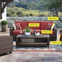 Meadowtown Red Patio Group