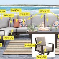 Cordova Reef Beige Corner Seat Cushion