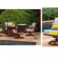 Zoranne Beige/Brown Seat Cushion