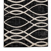 Avi Gray/White Medium Rug