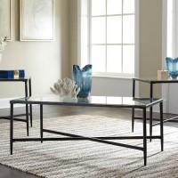 Augeron Black Occasional Table Set (Includes 3)
