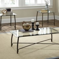 Burmesque Bronze Occasional Table Set (Includes 3)