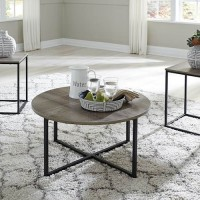 Wadeworth Two Occasional Table Set (Includes 3)