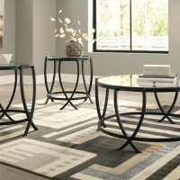 Tarrin Black Occasional Table Set (Includes 3)