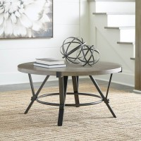 Zontini White Accent Table Set