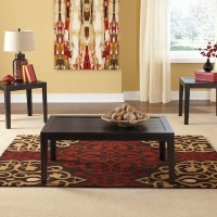 Birstrom Black/Brown Occasional Table Set (Includes 3)
