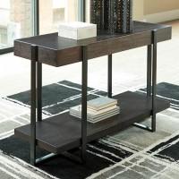 Drewing Dark Brown Sofa Table