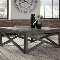 Haroflyn Gray Accent Table Set
