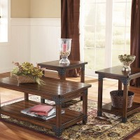 Murphy Medium Brown Occasional Table Set (Includes 3)