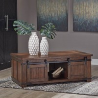 Budmore Brown Accent Table Set