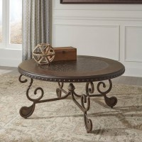 Rafferty Dark Brown Accent Table Set