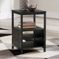 Airdon Gray Chair Side End Table