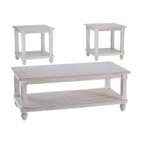 Cloudhurst White Occasional Table Set (Includes 3)